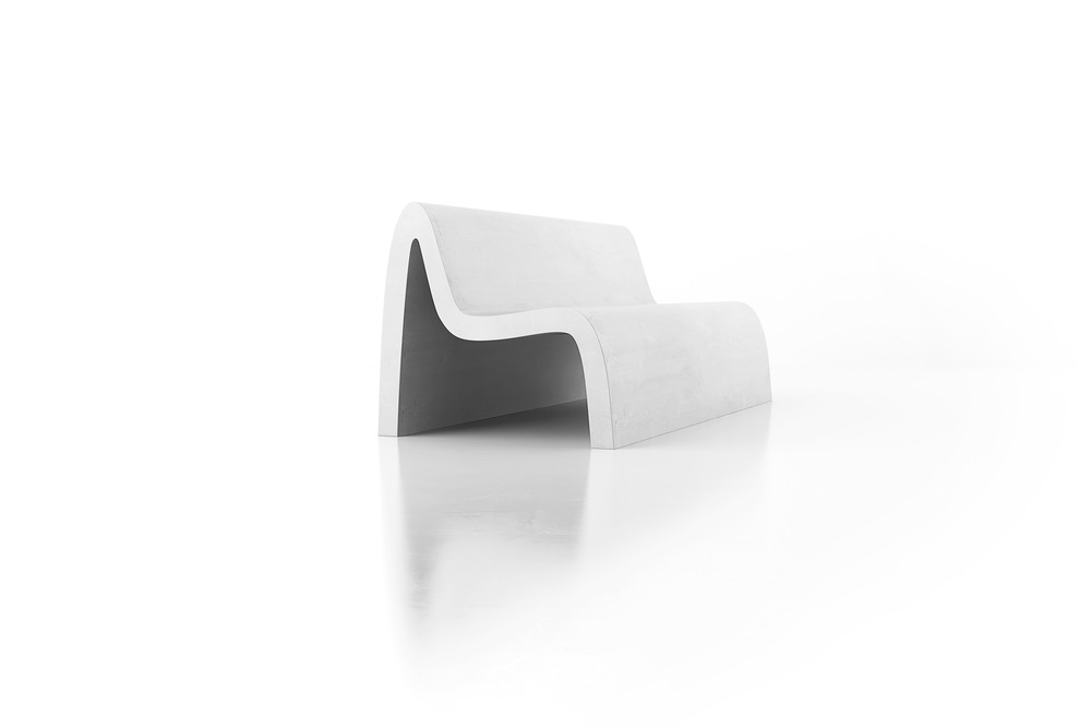 Emme bench by Stephane Chapelet for LAB23