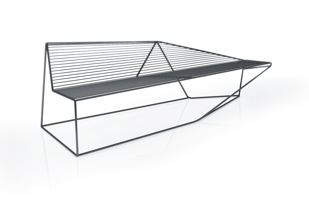 Edges bench by Stephane Chapelet for ARIA