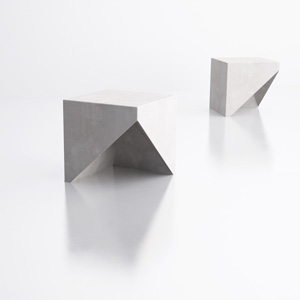 section stool by Stephane Chapelet for LAB23