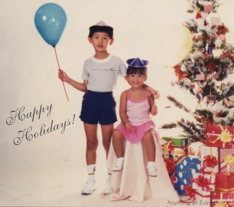 An  OLD  Christmas photo ( yup, that's me at 3! )