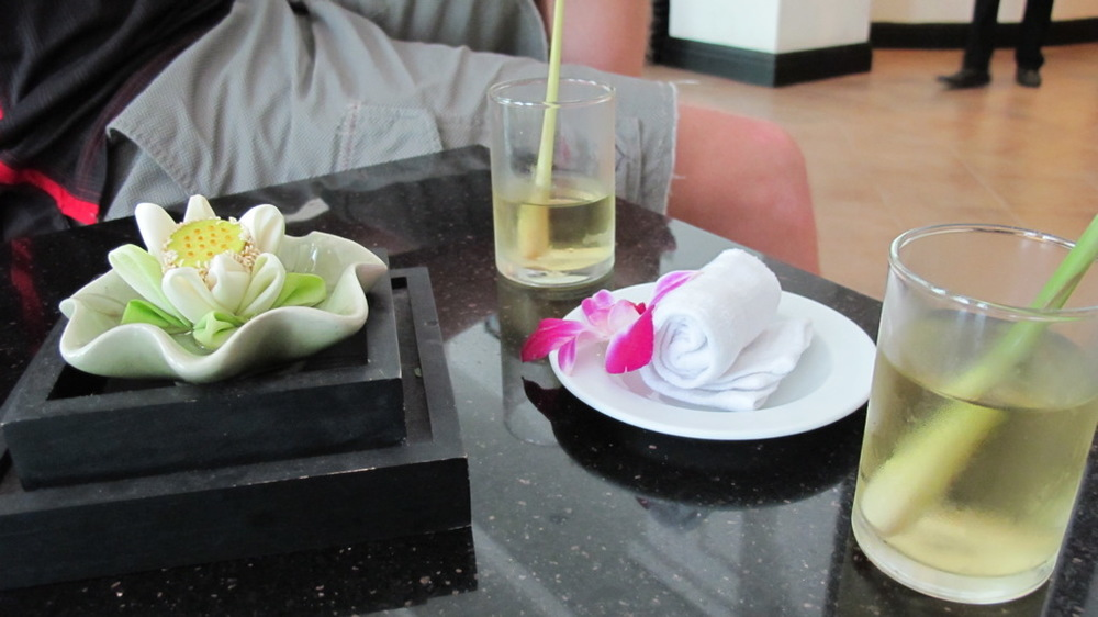 We stayed at the  Tara Angkor Hotel , which is located between  Angkor Wat  and Siem Reap's city center.