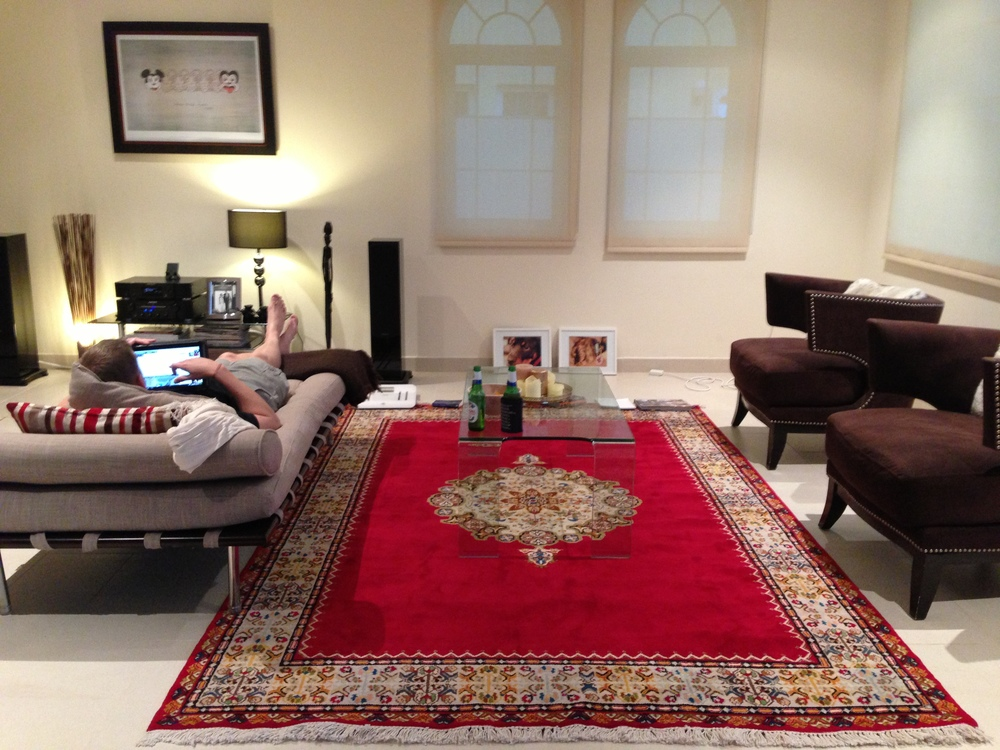 Our Royal Fez rug