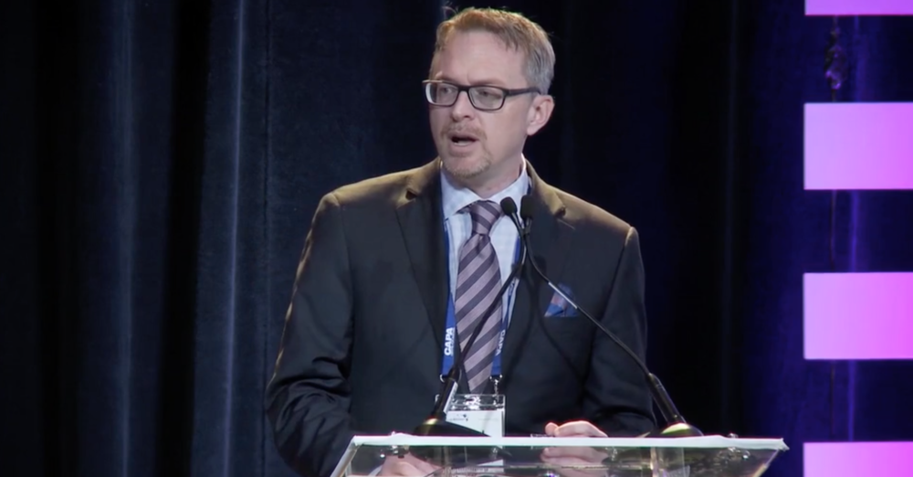 Chairing a session on Canadian commercial aviation at an aviation industry conference run by the Centre for Aviation (CAPA, Sydney, Australia) in Las Vegas, 2016. You can view the entire video  here .   Image is from CAPA (Centre for Aviation) .