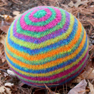 Striped Bouncy Ball $4.00