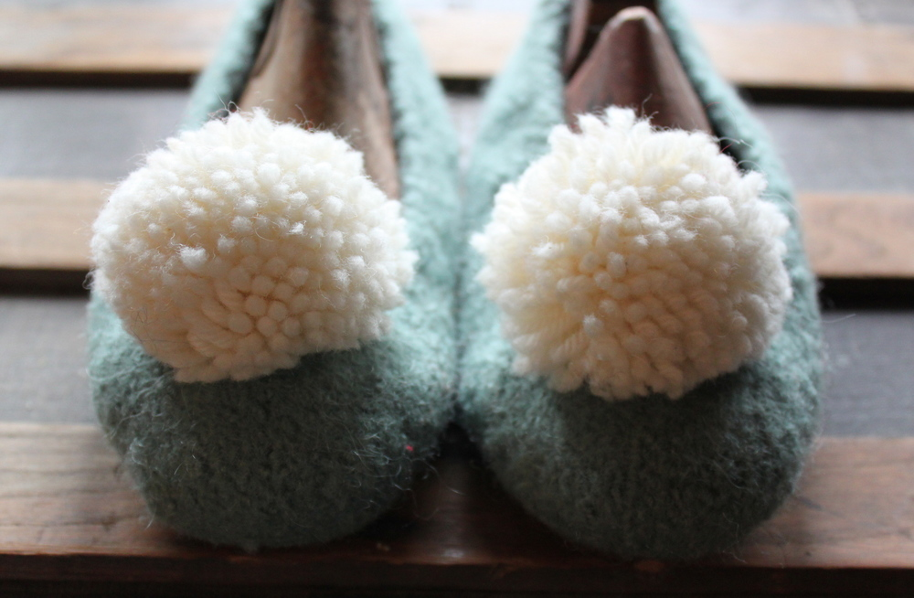 Slipper Inspiration, Design & Techniques: Pom poms and Fringe