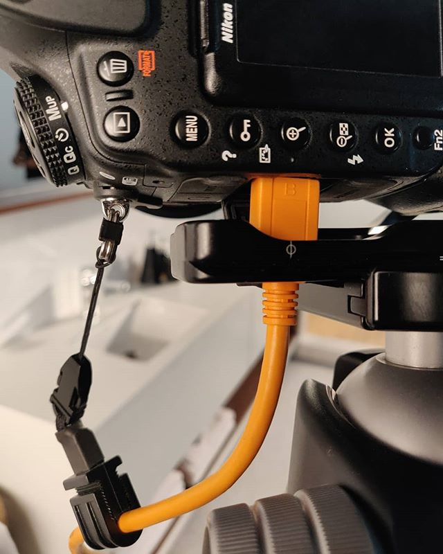 Shooting for ASIAN PAINTS after almost 4 years! Made sure that Camera is tethered with TetherTools Cable.  #tethertools #asianpaints #nikond850 #makingsets