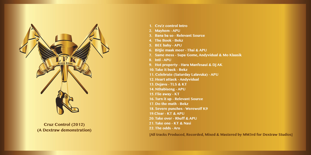 CC reloaded tracklist