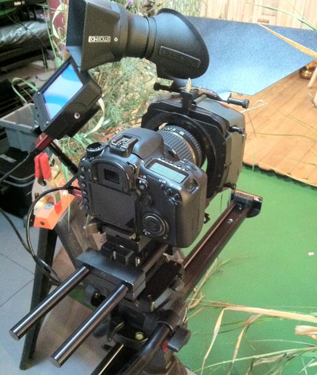 Camera rig and slider.
