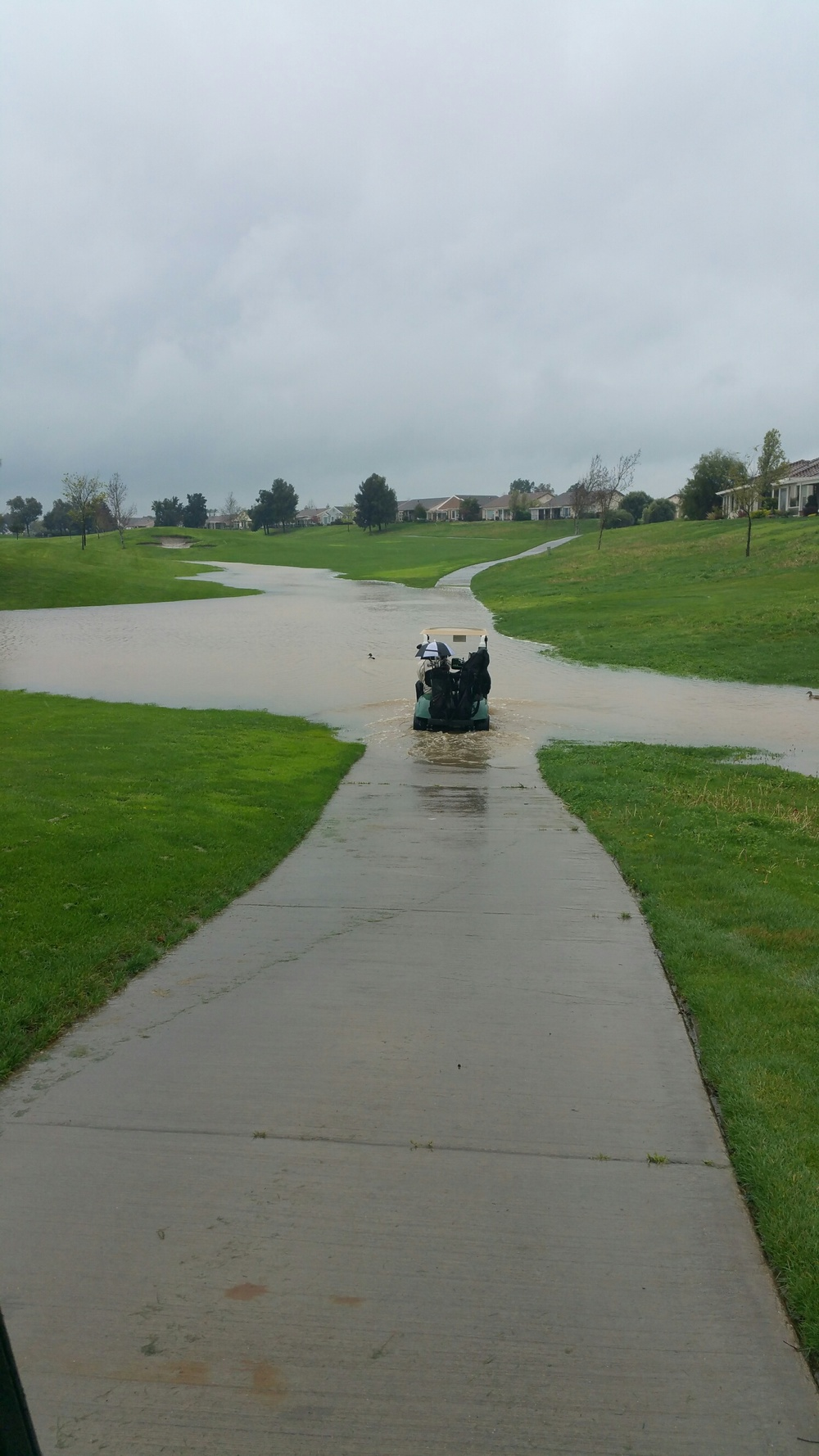 I think we should have got a boat instead. 2016 March tournament at Rio Vista GC.
