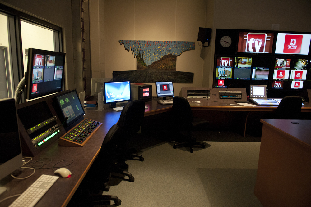 Another shot of the Control Room