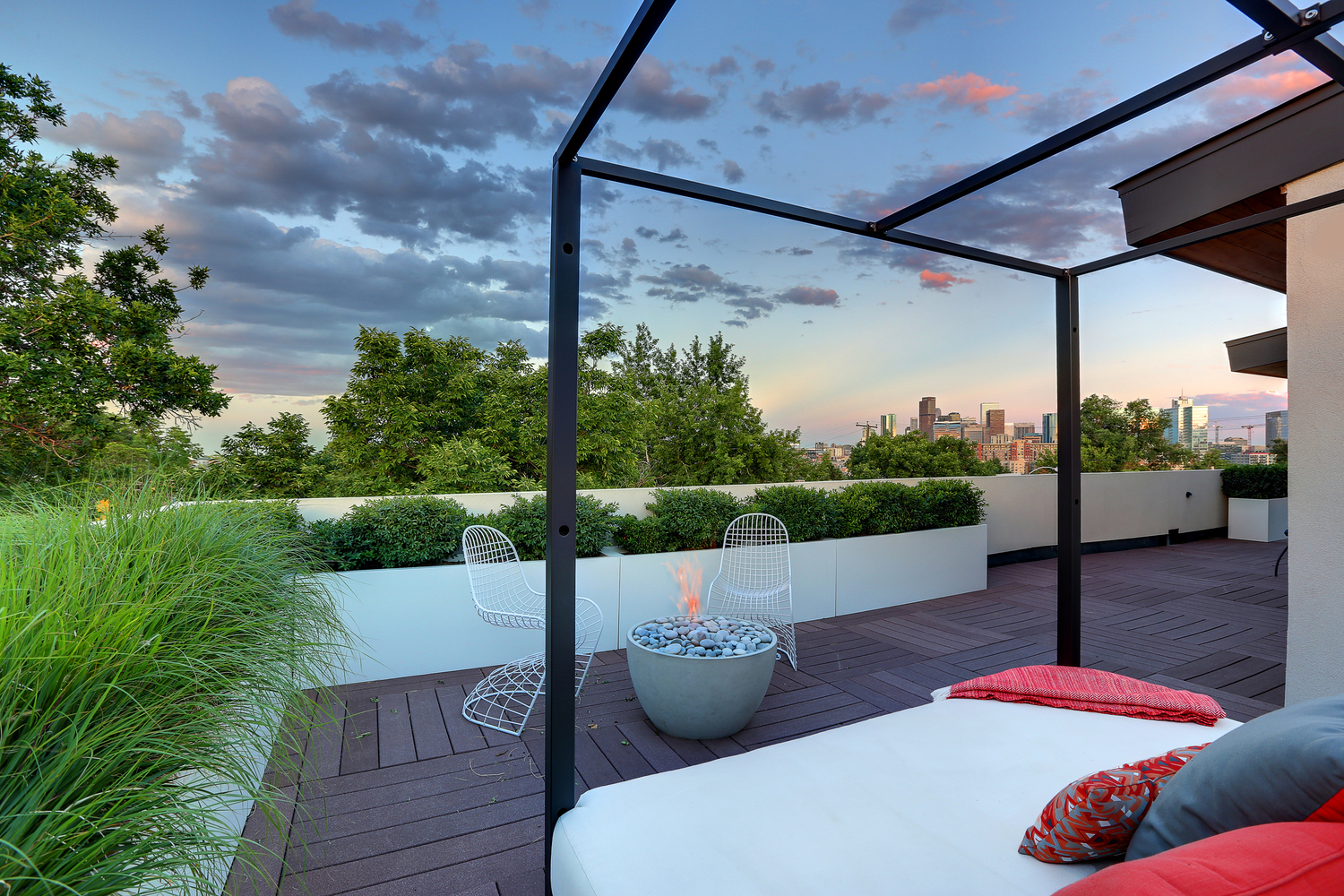 Shield House shield house roof garden — three sixty design