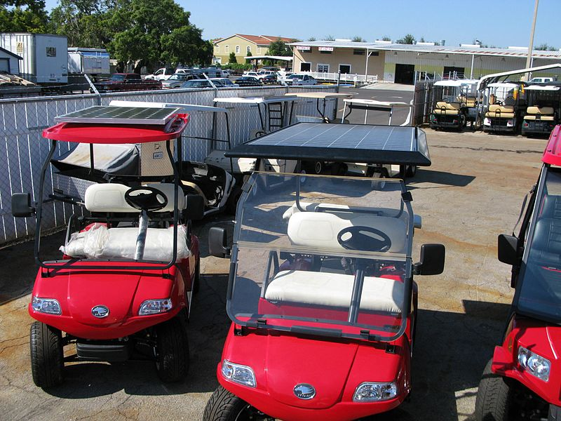 Solar Golf Carts