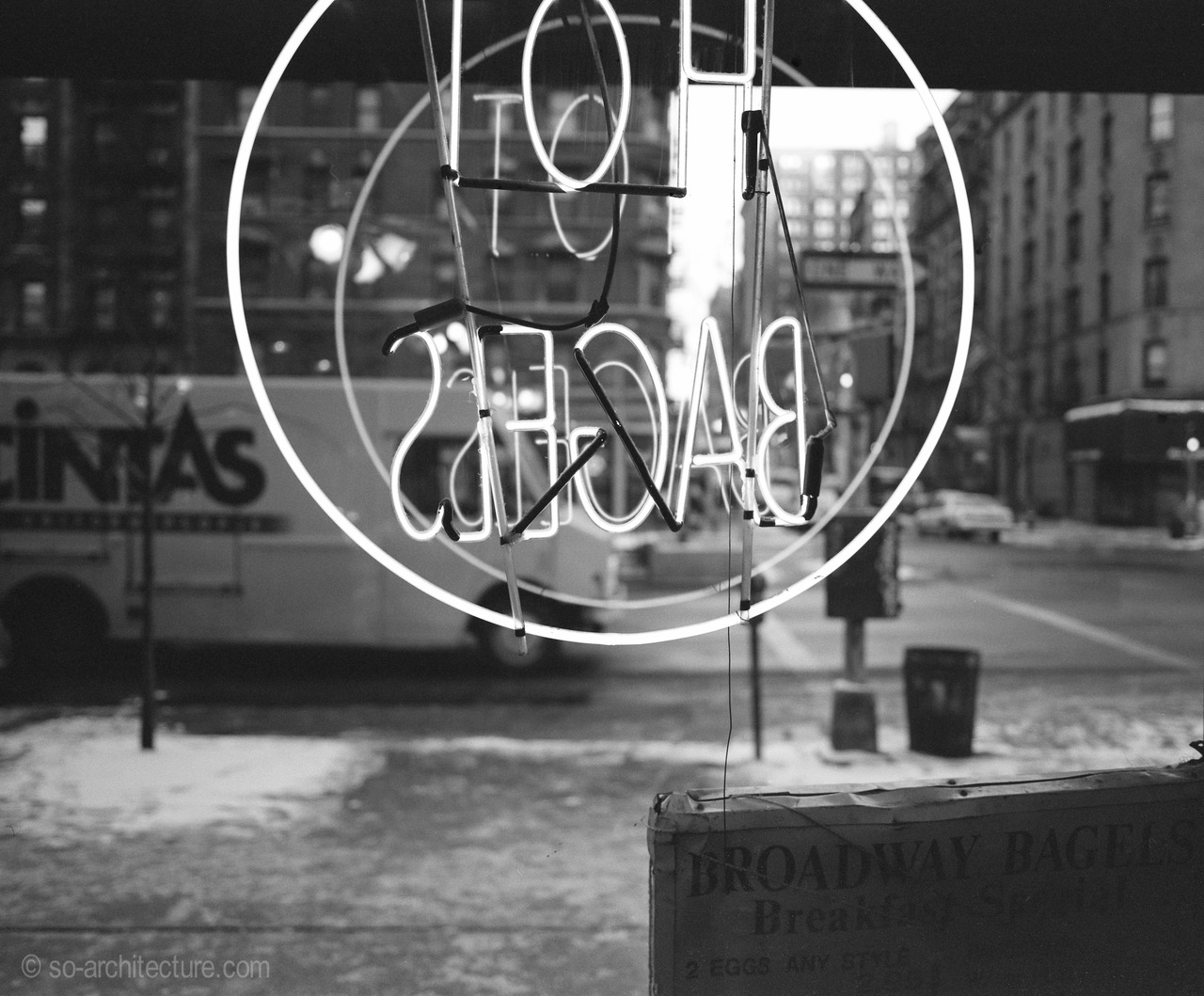 hot bagels- broadway new york city