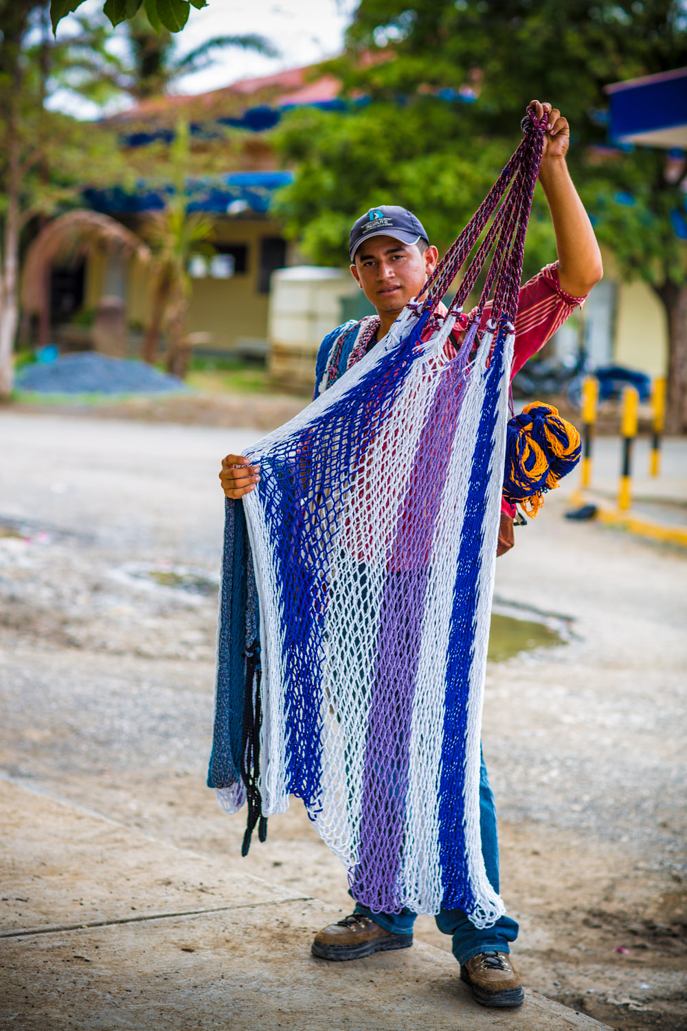 One of the hammock selling guys at the Costa Rica Nicaragua border.