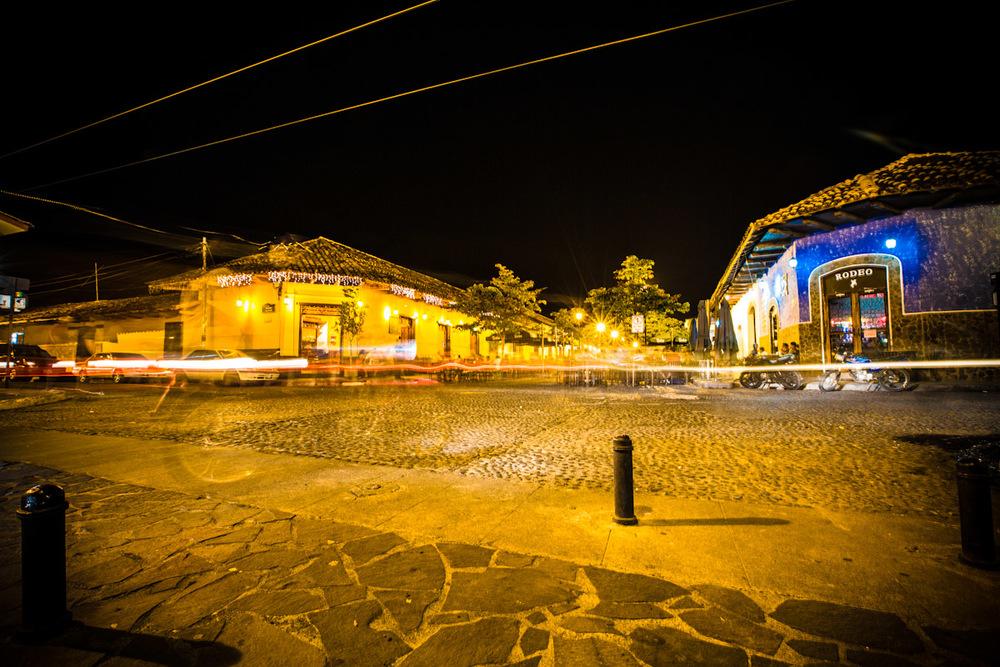 Granada at night.