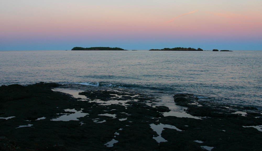 Sunset off Dassler Point