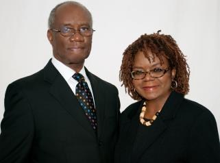 Rev. Albert L. Hezekiah Hyche, Presiding Elder & Attorney Ida Tyree- Hyche, District Coordinator