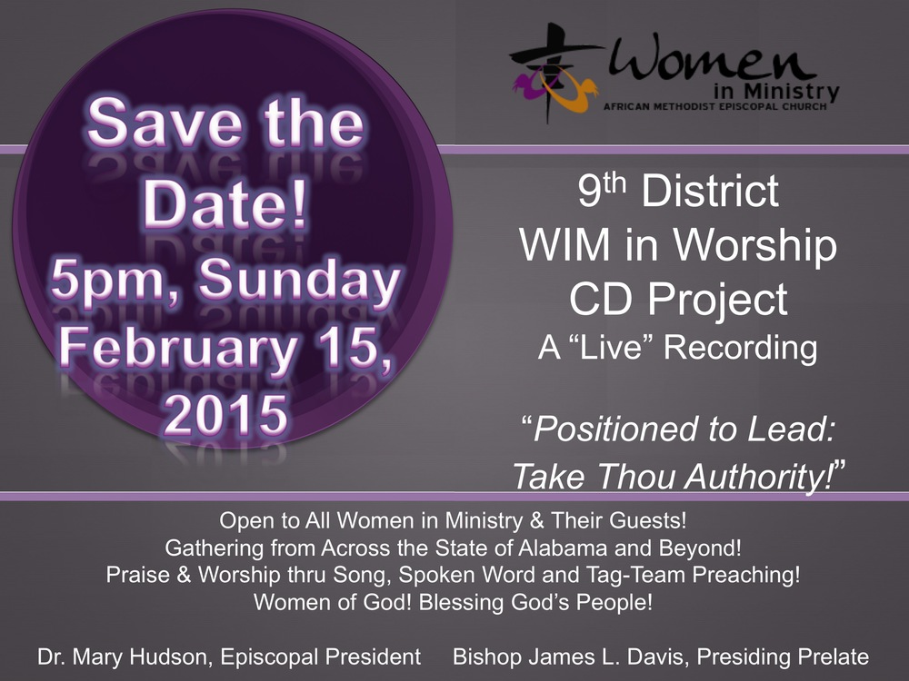 WOMEN IN MINISTRY in WORSHIP