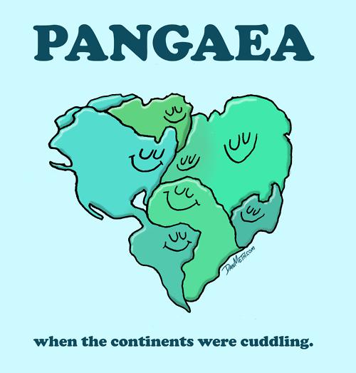 eatsleepdraw :       PANGAEA:   when the continents were cuddling.