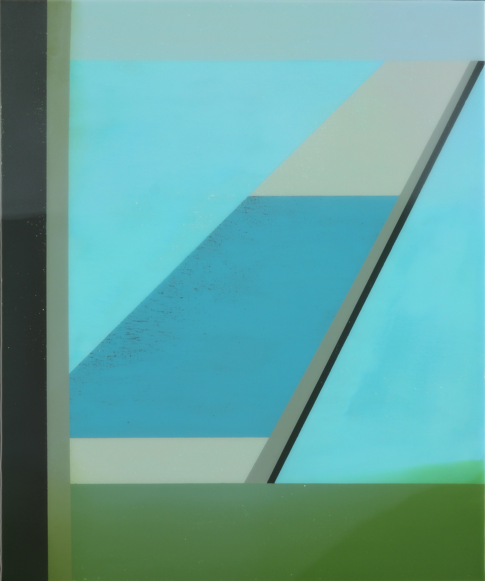 """Sky Level"", Acrylic on canvas over panel, 24"" X 20"", 2015."