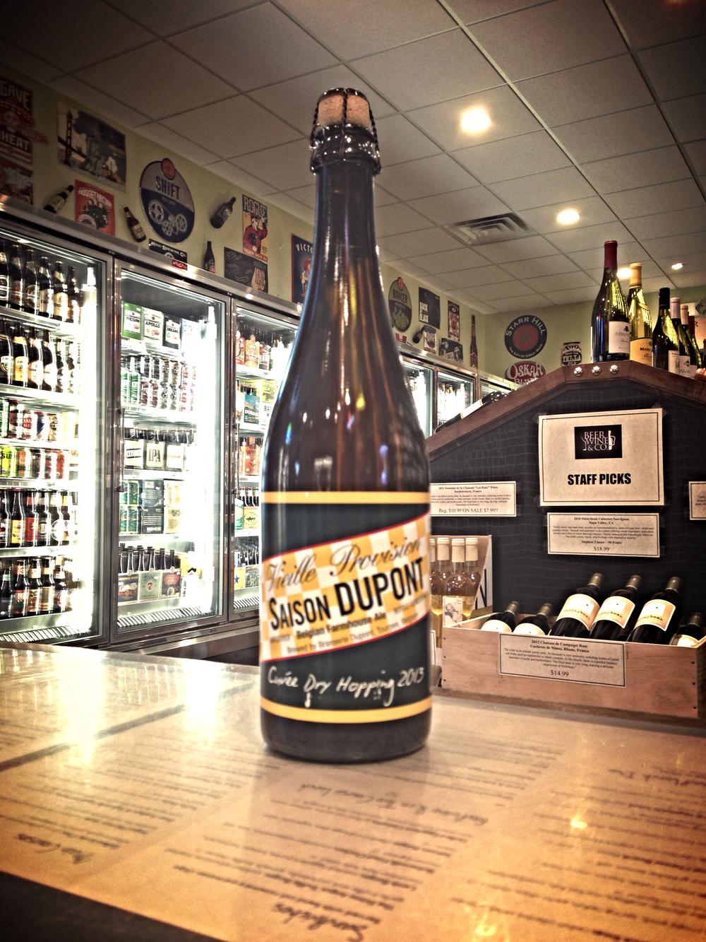 2013 Brasserie Dupont Cuvee Dry Hopping Saison