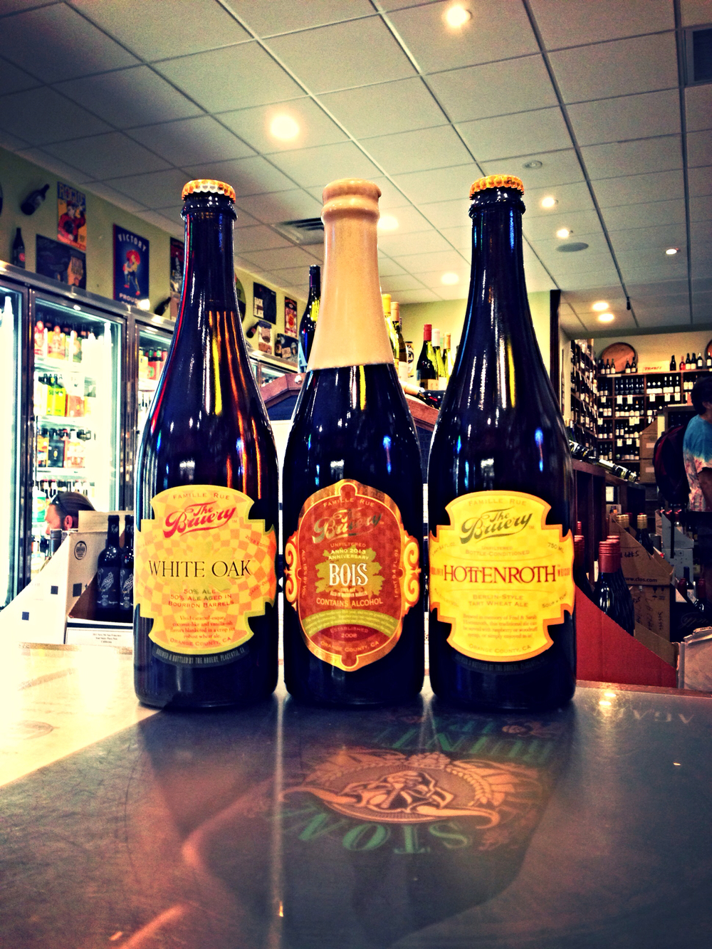 The Bruery White Oak, Bois Anniversary Ale, and Hottenroth