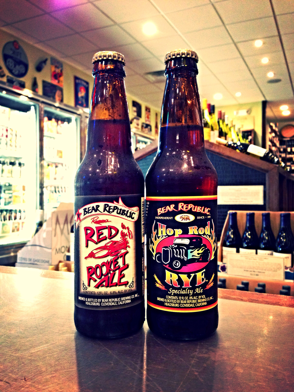 Bear Republic Red Rocket & Hop Rod Rye