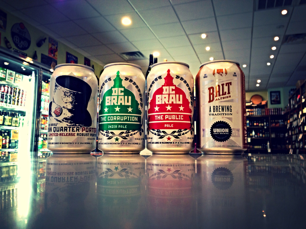 Local beers in stock! DC Brau's Penn Quarter Porter, The Citizen IPA, and Public Pale Ale. Baltimore's Union Craft Brewing Balt Altbier in stock as well!