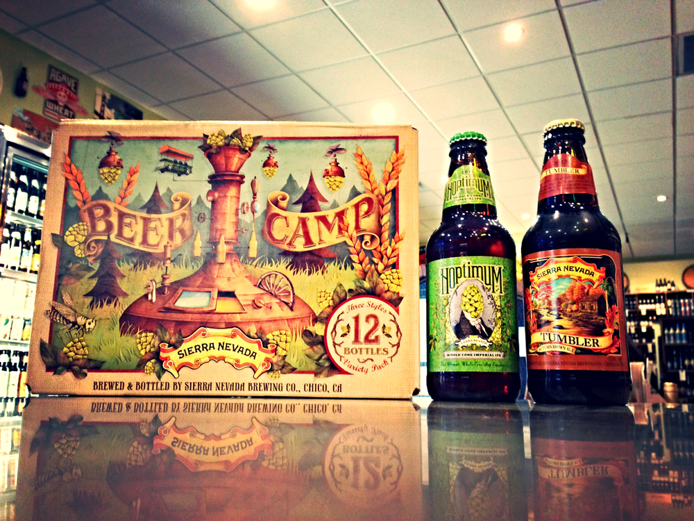 Sierra Nevada Beer Camp Variety 12 Pack, Hoptimum & Tumbler Brown Ale