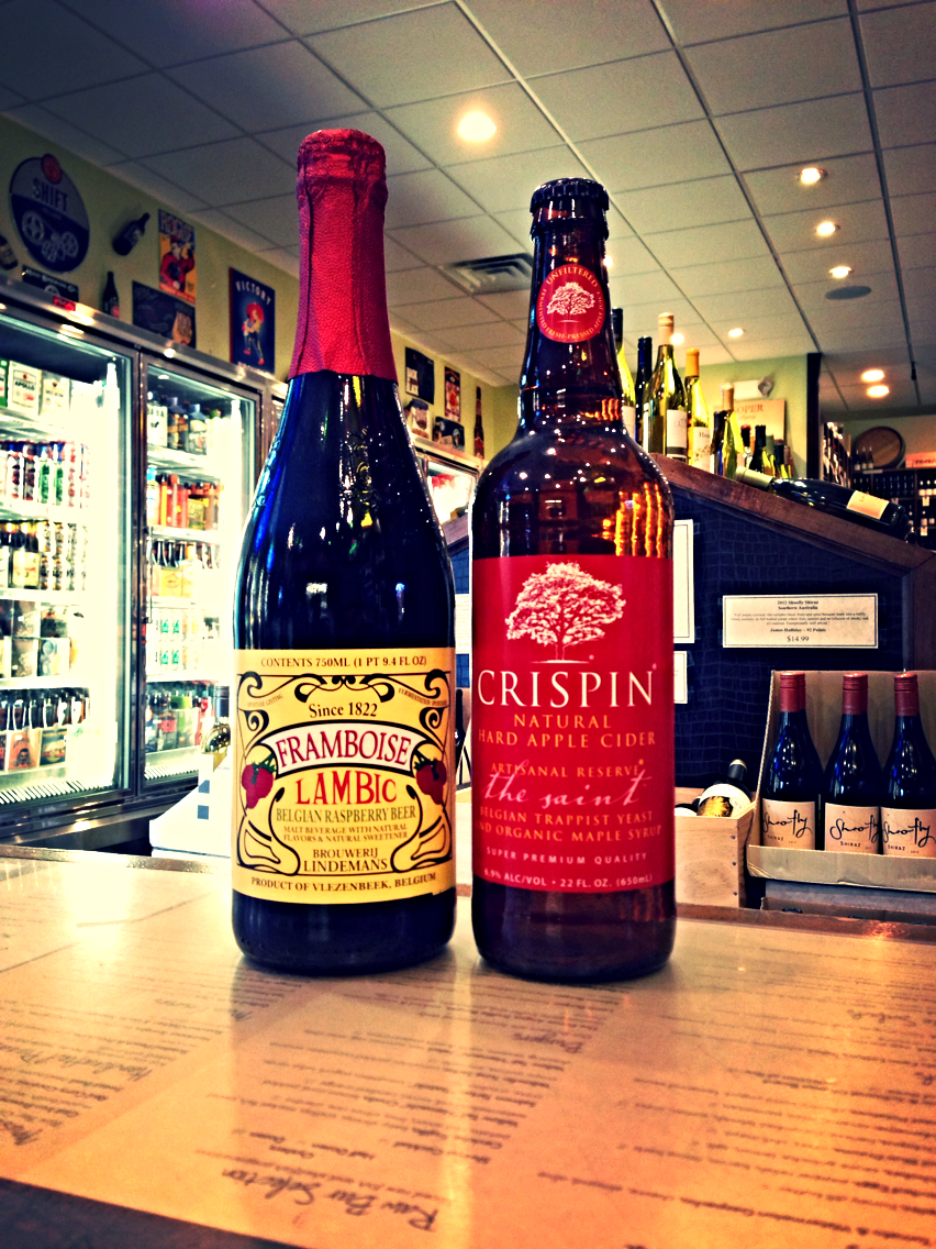 Lindemans Framboise & Crispin The Saint Cider