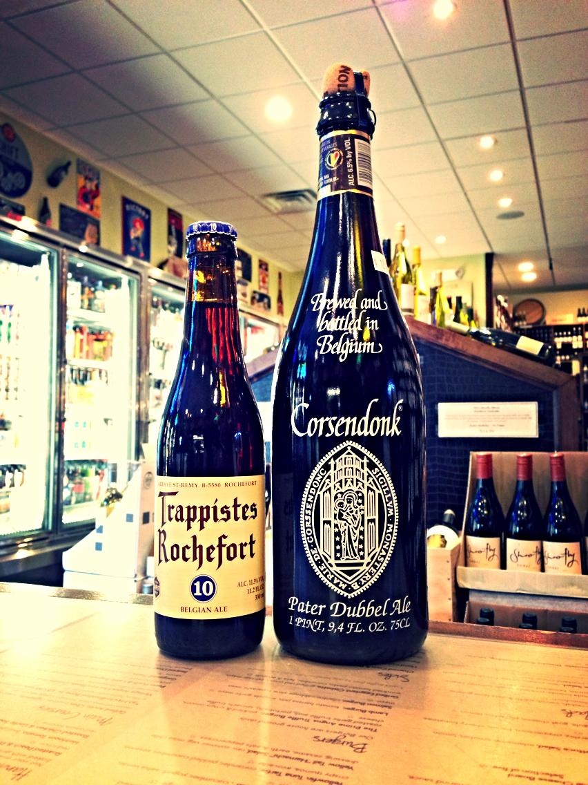 Rochefort 10 & Corsendonk Abbey Dubbel