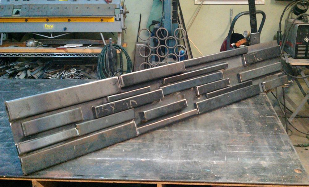 A bit of welding....