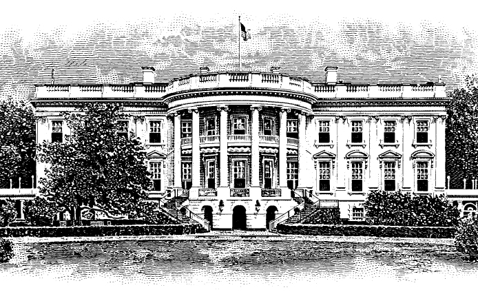 White House Drawing of The White...297 x 223