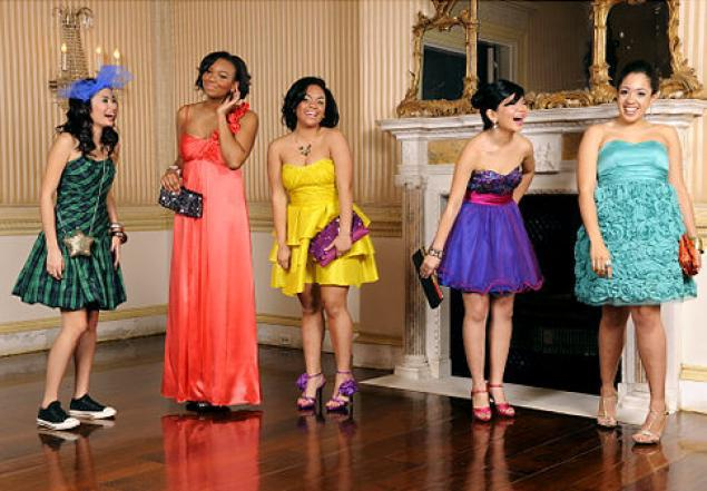 Prom style (Photo by Julia Xanthos/New York Daily News)