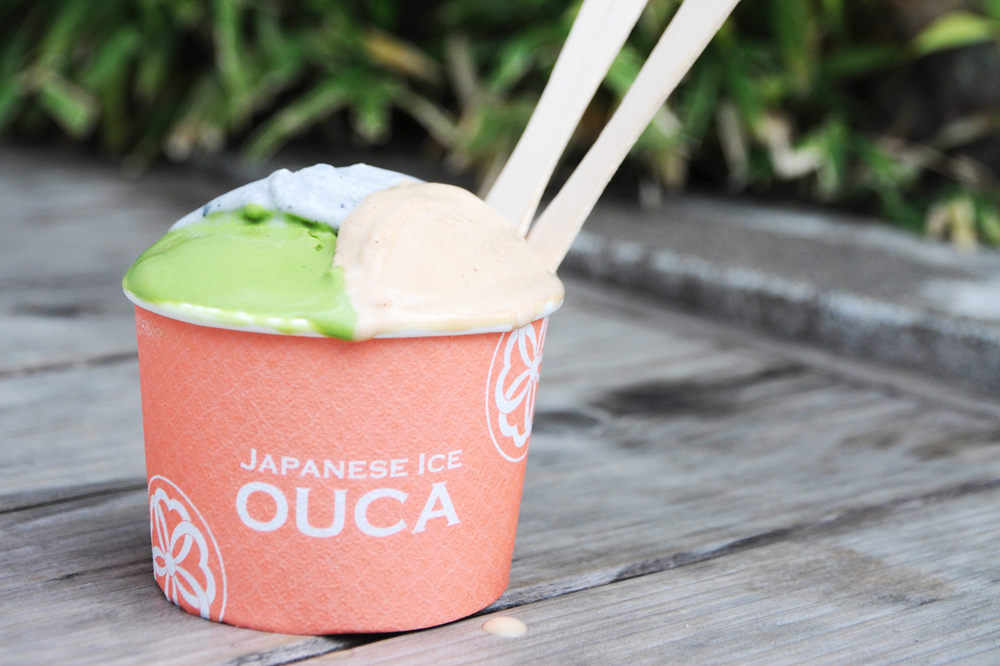 Ice cream at Japanese Ice Ouca
