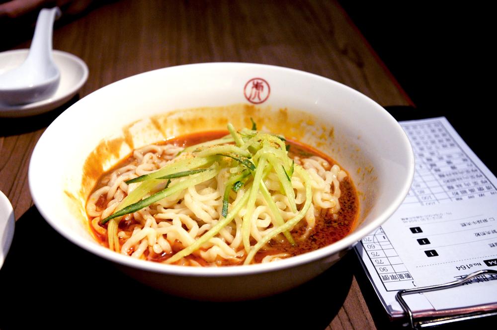 Sesame noodles at Mazendo