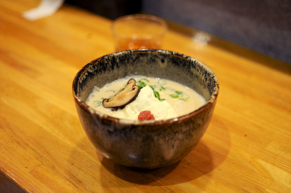 Soy milk dashi ramen at Mamezen