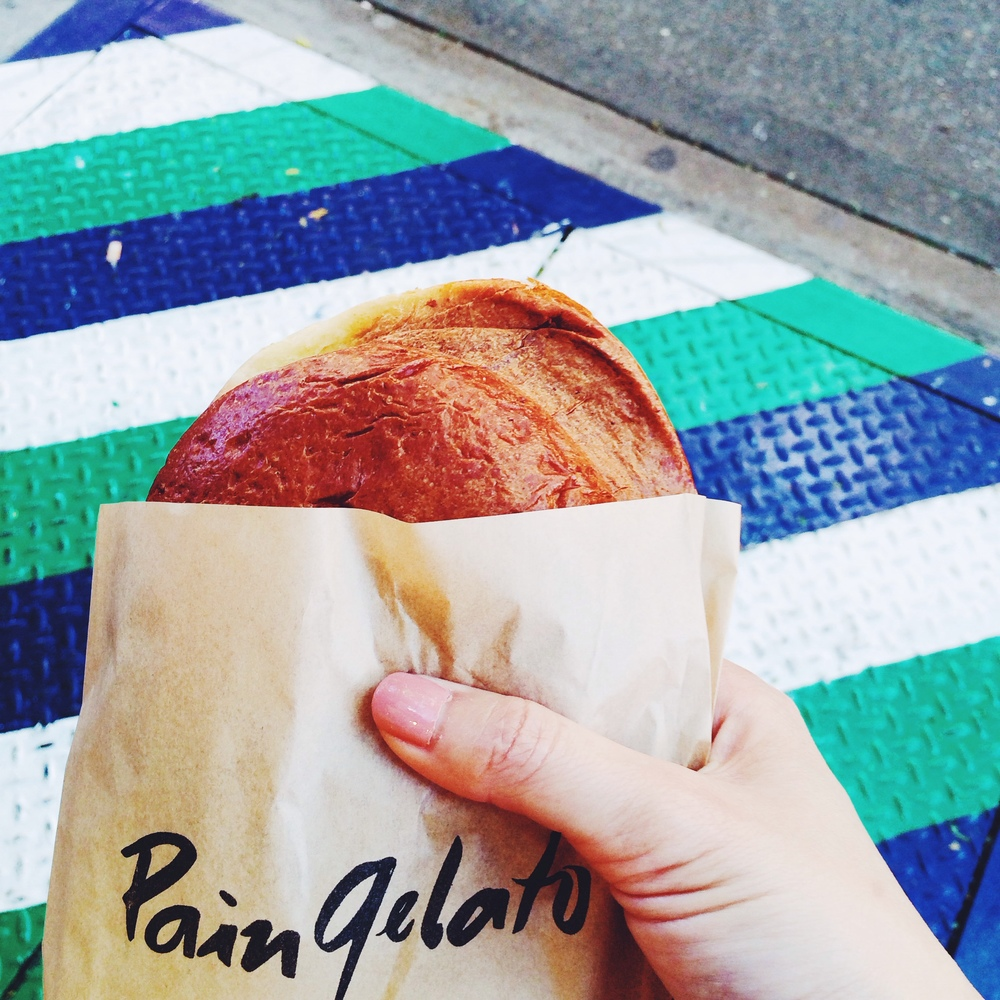 Pain gelato at A.B. Biagi