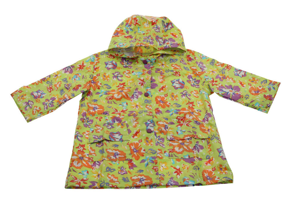 Lime Flower Raincoat Lined (RC - LLF) and Un-Lined (RC - LF)