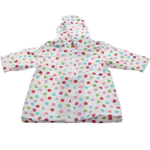 Polka Dot Raincoat Lined (RC - LPD) and Un-Lined (RC - PD)