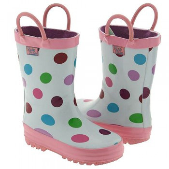 Polka Dot Rainboots (RB - PD)