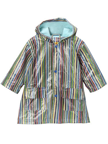New Blue Stripe Raincoat Lined (RC - LNB) and Un-Lined (RC - NB)