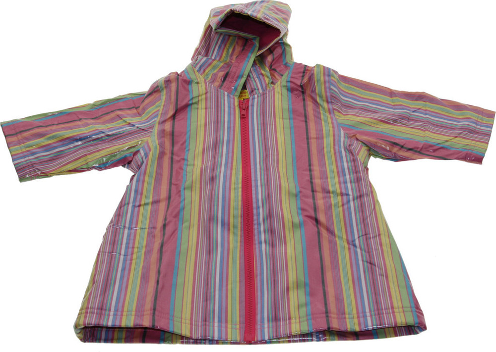 Pink Stripe Raincoat Lined (RC - LPS) and Un-Lined (RC - PS)