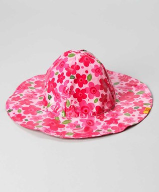 New Pink Flower Rainhat (RH - NF)