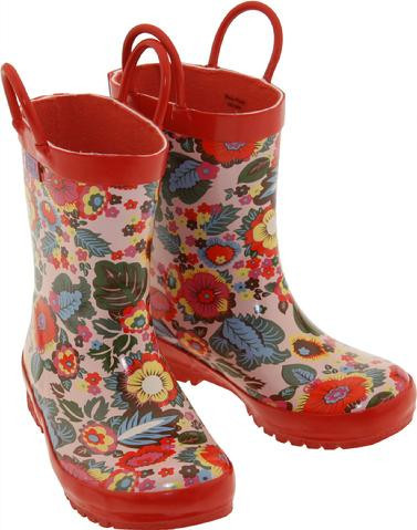 Multi Floral Rainboots (RB - MF)