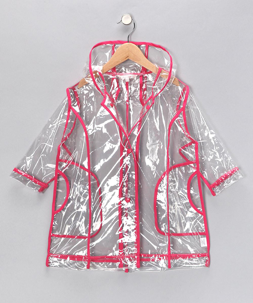 Solid Fuchsia Raincoat (R2C - FU)