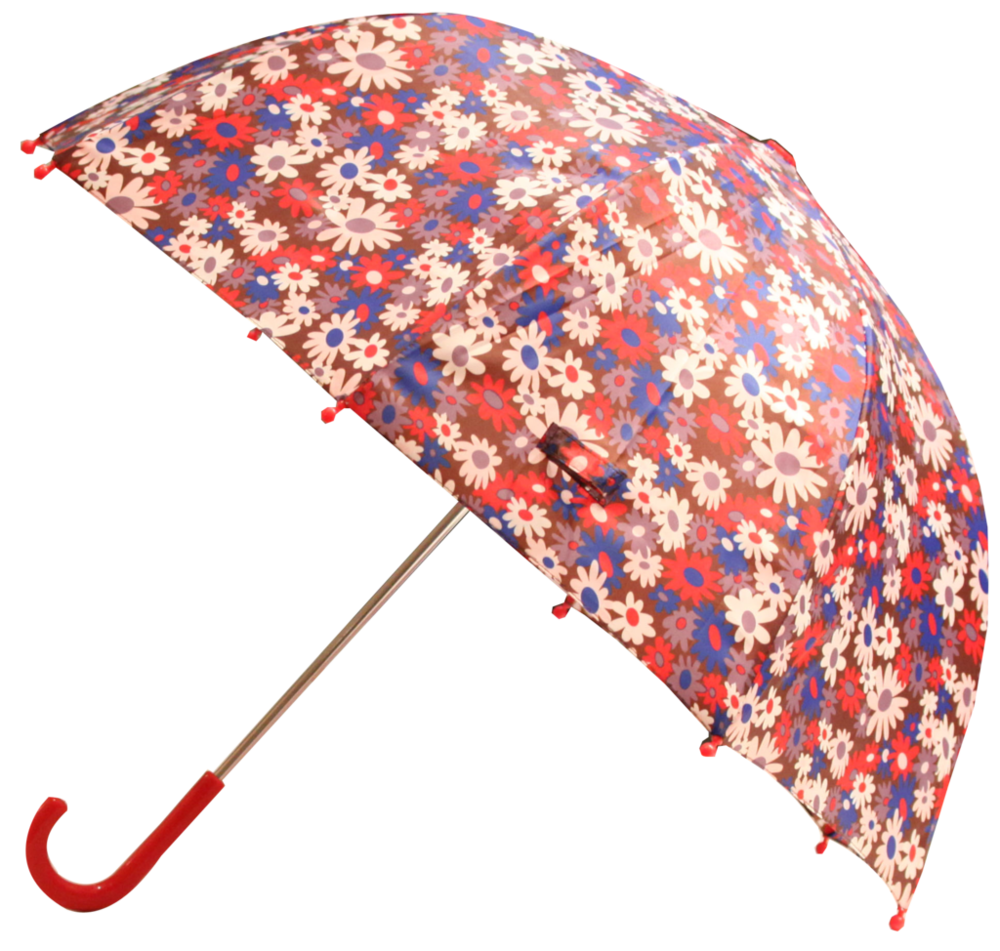 Brown Flower Umbrella (RU - BF)