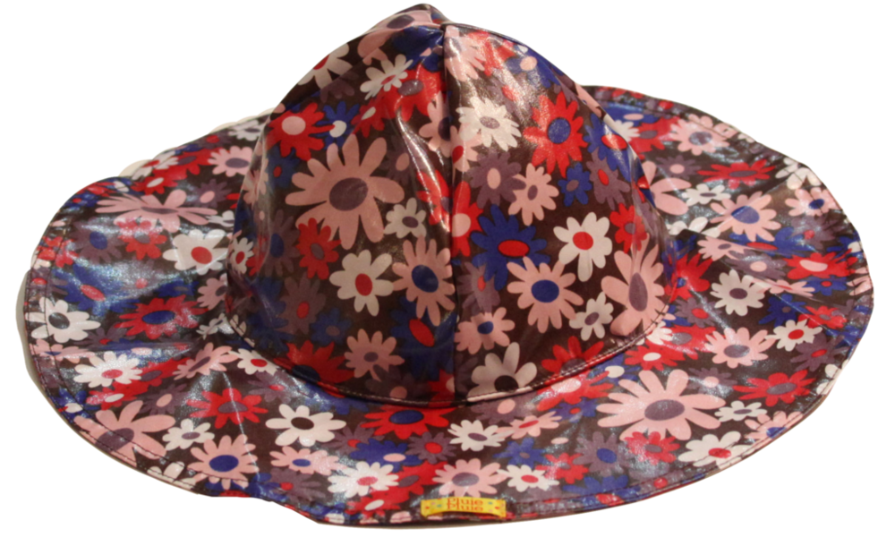 Brown Flower Rainhat (RH - BF)