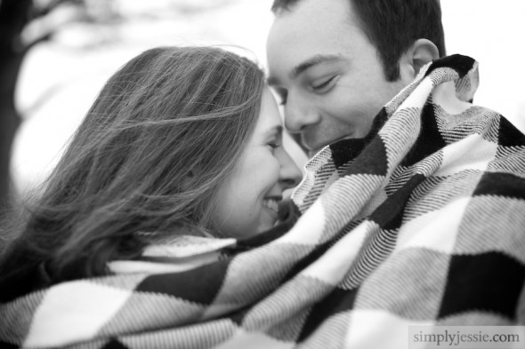 Best Winter Engagement Photography