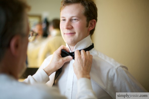 Groom getting ready1